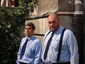Ojciec Mateusz - Inspector Możejko and Aspirant Nocul