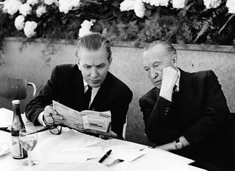 Kai-Uwe von Hassel - Hassel and Adenauer on a 1960 party conference