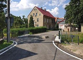 Kopaczów Village in Lower Silesian Voivodeship, Poland