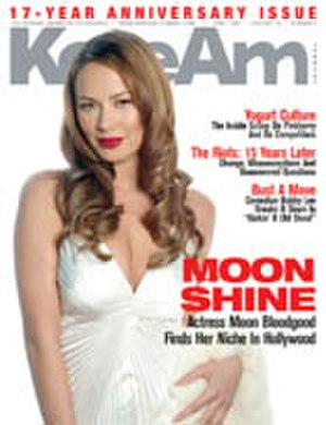 Moon Bloodgood - On the cover of KoreAm, April 2007