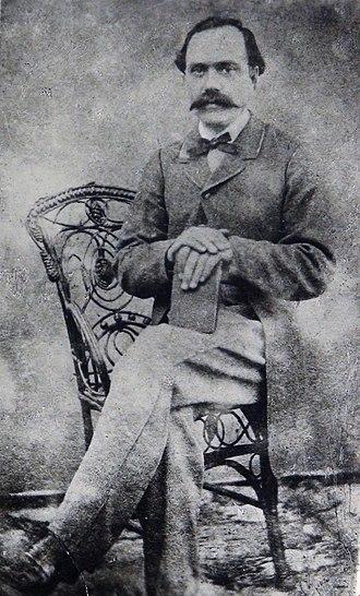 Kostandin Kristoforidhi - Photograph of Kostandin Kristoforidhi