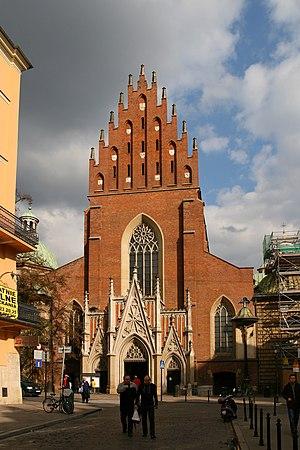 Basilica of Holy Trinity, Kraków - Basilica of Holy Trinity in 2008