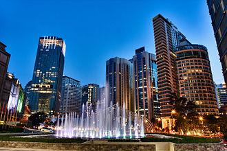 Kuala Lumpur City Centre - Image: Kuala Lumpur City Centre