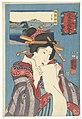 Kwallen uit de provincie Bizen Bizen kurage (titel op object) Warme gevoelens voor berg en zee (serietitel) Sankai medetai zue (serietitel op object), RP-P-2008-206.jpg