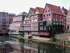 Lüneburg, ehem. Hafen an der Ilmenau -- 2006 -- 1.jpg