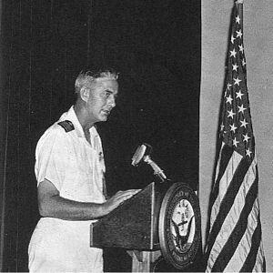 Atlantic Undersea Test and Evaluation Center - Captain L. L. Jackson, Jr., USN, Commanding Officer, AUTEC, 1969
