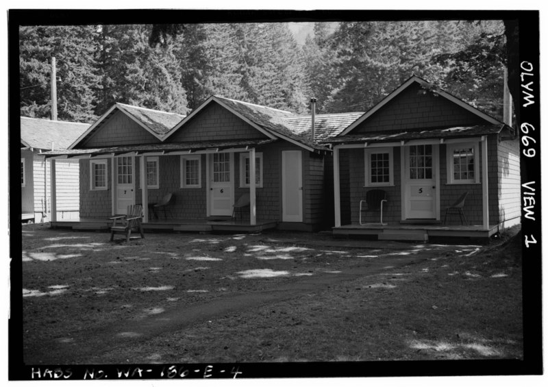 File lake crescent lodge cabin 669 west facade looking for Cabins west lodging