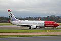 LN-DYM B737-8JPW Norwegian Air Shuttle MAN 18DEC13 (11436832593).jpg