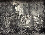La Belle au Bois Dormant - fifth of six engravings by Gustave Doré.jpg