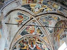 La Brigue - Chapelle Notre-Dame-des-Fontaines - Peintures du chœur -5