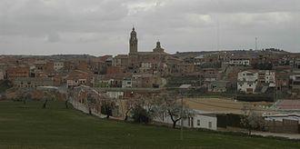 La Granadella - View of La Granadella, Catalonia.