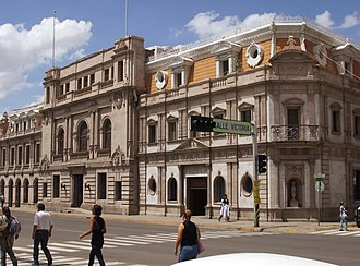 Chihuahua City - The City Hall also fronts onto the Plaza de Armas.