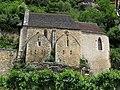La Roque-Gageac - église, côté.jpg