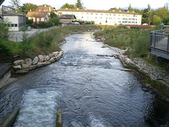 Versoix - Versoix river at Versoix