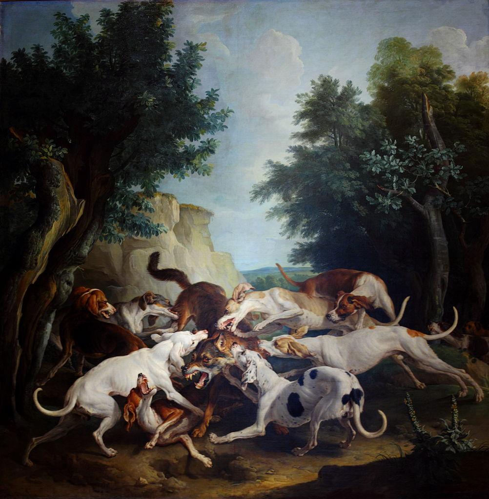 La chasse aux loups - François Desportes- ( 1661-1743)