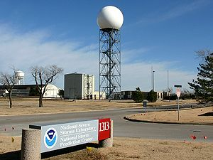 NEXRAD - NEXRAD Radar at the WSR-88D Radar Operations Center.