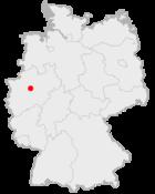 Местоположение Дортмунда в Германии