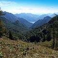 Lago di Lecco, passo del Cainallo, Esino Lario, Italy - panoramio.jpg