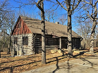National Register of Historic Places listings in Camden County, Missouri - Image: Lake Of The Ozarks SP SR 134 HD2 NRHP 85000533 Camden County, MO