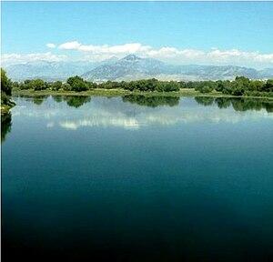 Lake Skadar - Image: Lake Shkodër