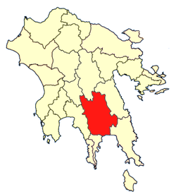 Location of Lacedaemon Province