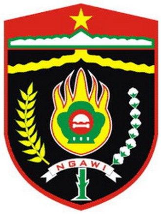 Ngawi Regency - Image: Lambang Kabupaten Ngawi