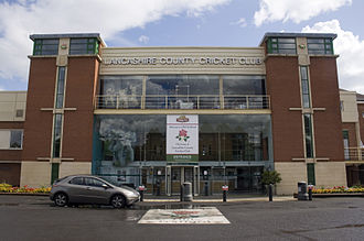 Lancashire County Cricket Club - The ground's main entrance
