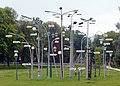 Landesgartenschau Rosenheim 2010 - Leuchtenwald (mit Erläuterung).jpg