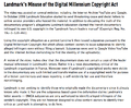 Landmark's Misuse of the Digital Millennium Copyright Act.png