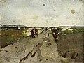 Landschap bij Waalsdorp met soldaten op manoeuvre Rijksmuseum SK-A-3536.jpeg