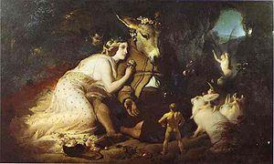 Sir Edwin Landseer: Scene From A Midsummer Nig...