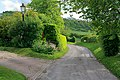Lane leading to St Andrew's Church, Chilcomb - geograph.org.uk - 436959.jpg