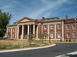 O Langley Park Mansion em setembro de 2010
