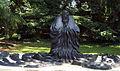Laozi aus Bronze (2003), von Yungang Chen (chinesisch, geb. 1956) 2, Malkastenpark, Düsseldorf.jpg