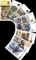Lari Banknotes Png Sign Of Georgian