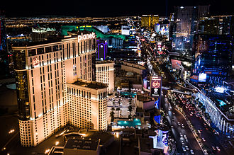 Paradise, Nevada - The Las Vegas Strip, largely located within Paradise