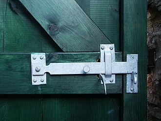 Latch - Door latch
