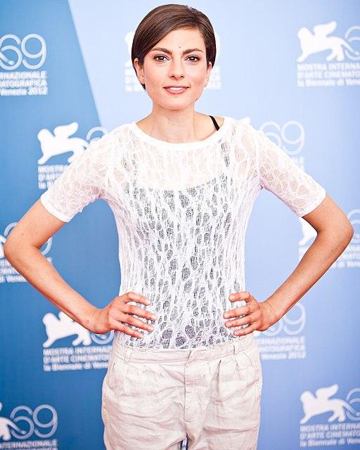 Laura de Boer at the 69th Venice International Film Festival (cropped)