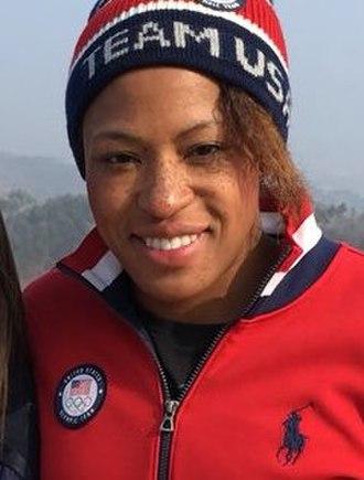 Lauren Gibbs - Gibbs at the 2018 Winter Olympics