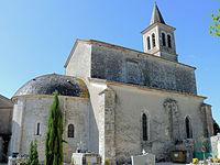 Le Montat - Eglise Saint-Barthélemy - Ensemble.JPG