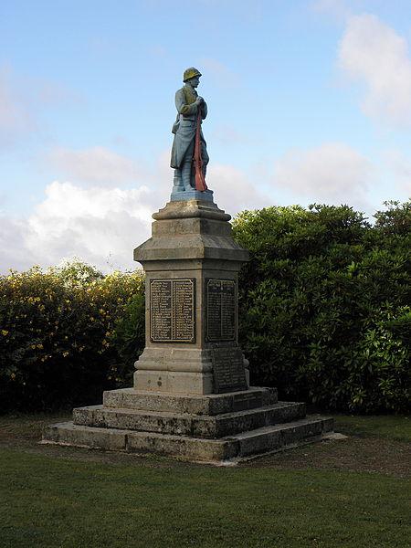 Monument aux morts du Saint (56).