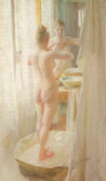 File:Le tub (1888), akvarell av Anders Zorn.jpg