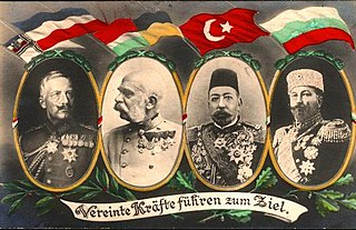 Central Powers Military coalition in World War I