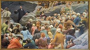 Max Leenhardt - Image: Leenhardt Preaching