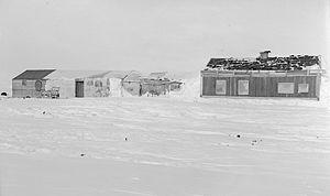 Ernest de Koven Leffingwell - Leffingwell's base on Flaxman Island, circa 1910