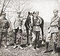 Legiony Polskie - Grupa oficerów 5 pułku piechoty, 1915.jpg