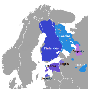 Baltic Finns - Finnic languages linguistic area