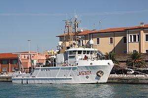 Italian ship Leonardo (A5301) - Image: Leonardo (A 5301) 06 @chesi