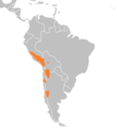 Leopardus jacobita distribution map.png