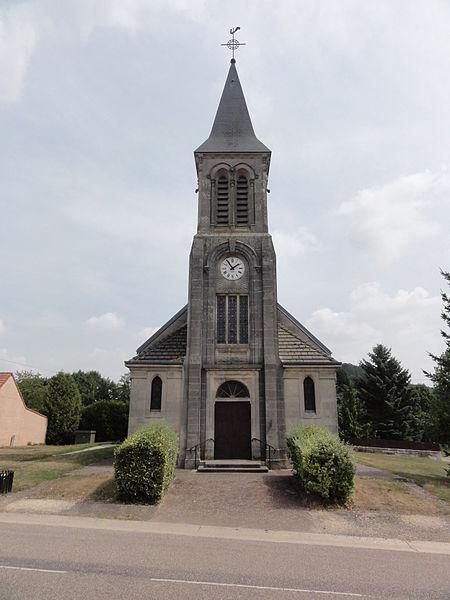 Les Éparges (Meuse) église